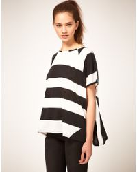ASOS Collection - Black Asos T-Shirt in 90s Block Print - Lyst