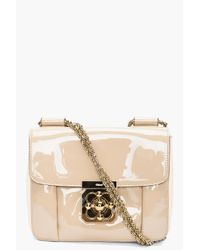 Chloé | Beige Elsie Evening Bag | Lyst