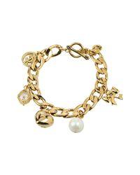 Juicy Couture | Metallic Iconic Pre-assembled Charm Bracelet | Lyst