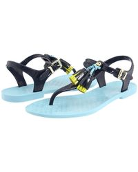Juicy Couture   Blue Wisp Jelly Sandals    Lyst