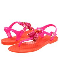Juicy Couture | Pink Wisp Jelly Sandals  | Lyst