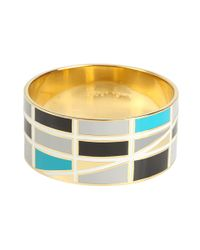 kate spade new york - Blue About Town Idiom Bangle - Lyst