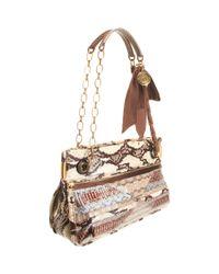 Lanvin | Multicolor Jacquard Crossbody Bag | Lyst