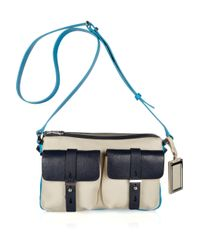 Marc By Marc Jacobs | Natural Werdie Color-block Leather Shoulder Bag | Lyst