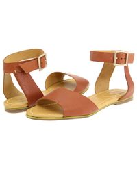 See By Chloé | Brown Leather Sandals | Lyst