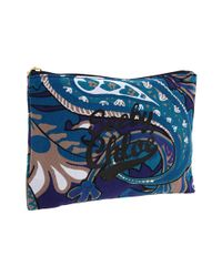 See By Chloé | Blue Cosmetic bag | Lyst