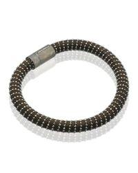 Carolina Bucci - Black Twister Gold Bracelet - Lyst