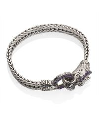 John Hardy Metallic Naga Lava Dragon Bracelet