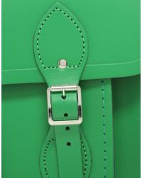 Cambridge Satchel Company - Green 14 Satchel - Lyst