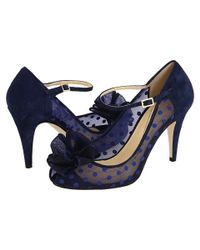 kate spade new york | Blue Didi Mary Jane Pump | Lyst