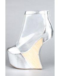Jeffrey Campbell | Silver The Moon Walk Shoe  | Lyst