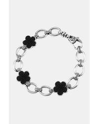 Lagos | Metallic Love Me Knot Oval Link Bracelet | Lyst