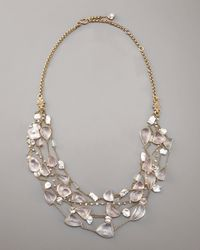 Stephen Dweck | Pink Rose Quartz & Pearl Necklace | Lyst