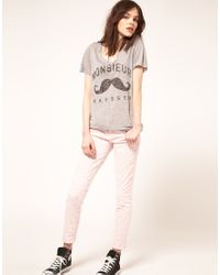 Zoe Karssen - Gray Monsieiur Karssen T Shirt - Lyst
