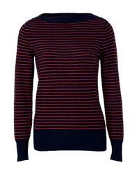 DEMYLEE | Red Amelie Thin Stripe Sweater | Lyst