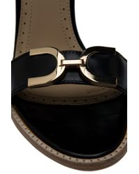 Raoul - Black Ankle Strap High Heel Sandals - Lyst