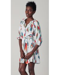 Tucker - Multicolor Classic Smocked Mini Dress - Lyst