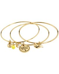 Juicy Couture | Metallic Coin Bangle Bracelet | Lyst