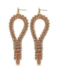 Coast - Metallic Angelique Earrings - Lyst
