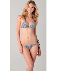 Heidi Klein - Blue Catherine Rope Bikini Top - Lyst