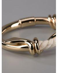 Chloé - Multicolor Rope Snake Bracelet - Lyst