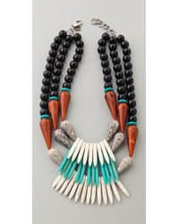 DANNIJO | Multicolor Ekat Necklace | Lyst