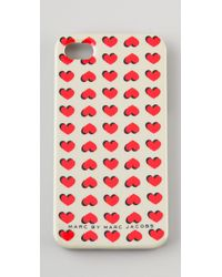 Marc By Marc Jacobs | Natural Light Hearted Iphone Case | Lyst