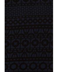 3.1 Phillip Lim | Blue Printed Silk Oneshoulder Dress | Lyst