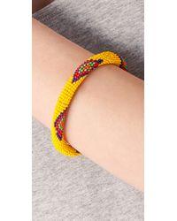 Antik Batik - Yellow Saleya Bracelet - Lyst