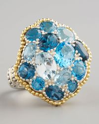 Lagos | Ombre Ring, Blue Topaz | Lyst