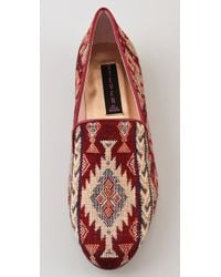 Steven by Steve Madden | Red Madee Fabric Flats | Lyst