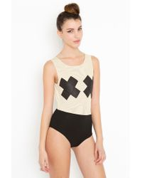 Nasty Gal | White X Rated Bodysuit | Lyst