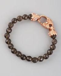 Stephen Webster | Pink Smoky Quartz and Rose Quartz Bracelet | Lyst