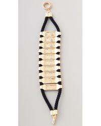 Noir Jewelry - Metallic Noir For L.A.M.B. Bar Bracelet - Lyst