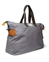 Ally Capellino - Gray Waxy Freddie Waxed-cotton Holdall Bag for Men - Lyst