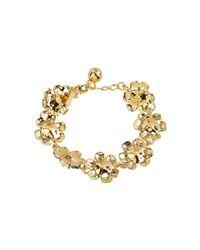 kate spade new york | Metallic Posey Park Tennis Bracelet | Lyst