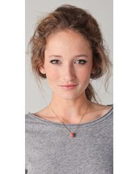 Marc By Marc Jacobs - Metallic Delicate Sweetie Pendant Necklace - Lyst