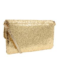 kate spade new york - Metallic Sparkler Missy Crossbody Bag - Lyst