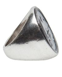 Low Luv by Erin Wasson - Black Coin Ring - Lyst