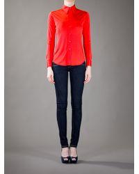 Ralph Lauren Black Label - Orange Classic Shirt - Lyst