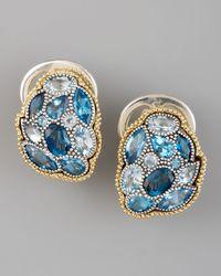 Lagos - Ombre Earrings Blue Topaz - Lyst