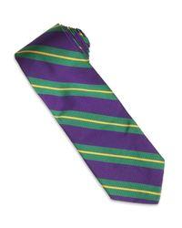 Ralph Lauren | Green Woven Repp Tie for Men | Lyst