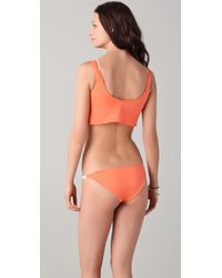 Basta Surf - Orange Avellanas Braided Bikini - Lyst