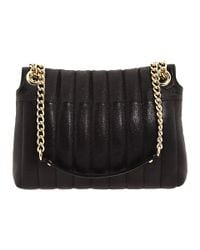 kate spade new york - Black Gold Coast Evangeline Leather Shoulder Bag - Lyst