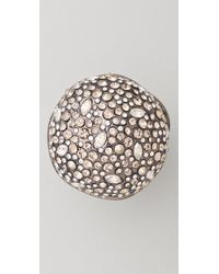 Alexis Bittar - Metallic Crystal Sphere Ring - Lyst