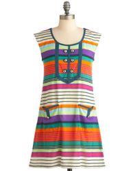 ModCloth | Multicolor Summer Sunset Dress | Lyst