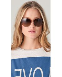 Oliver Peoples Brown Blondell Polarized Sunglasses