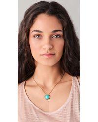 Rachel Leigh - Natural Estates Perfect Pendant Necklace - Lyst