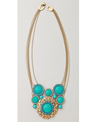 Rachel Leigh | Blue Statement Pendant Necklace | Lyst