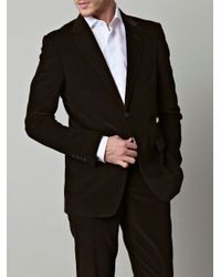Gucci | Brown Microcord Suit for Men | Lyst